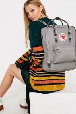 a513bd1ca2eb Fjallraven Kanken Fog Stripe Handle Backpack