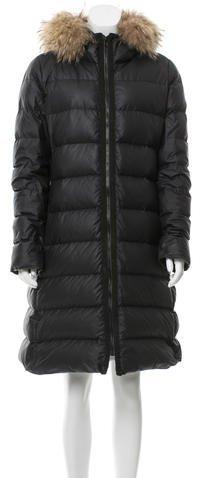 MonclerMoncler Nantesfur Puffer Coat