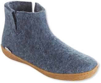 L.L. Bean L.L.Bean Adults' Glerups Wool Slipper Boots, Rubber Outsole