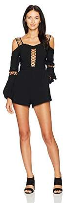 Finders Keepers findersKEEPERS Women's Borderlines Playsuit