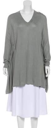 Maison Margiela Oversize Silk-Blend Sweater