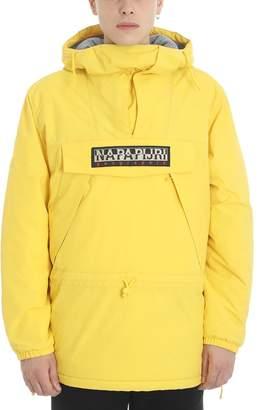 Napapijri Yellow Polyester Jacket