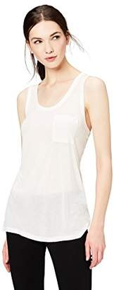 Daily Ritual Women's Super Soft Modal Semi-Sheer Pocket Tank Top