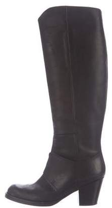 Acne Studios Round-Toe Leather Boots