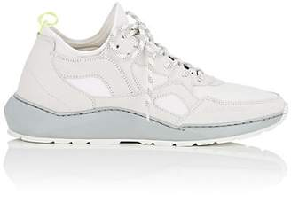 Filling Pieces Men's Republic Suede & Mesh Sneakers - White
