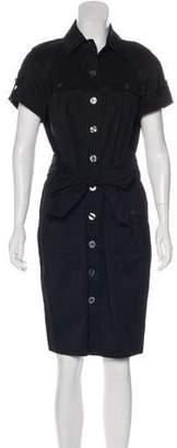 Diane von Furstenberg Short Sleeve Shirtdress
