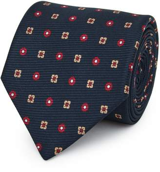 Reiss Our last order date for Christmas has now passed NOAH SILK TIE Navy