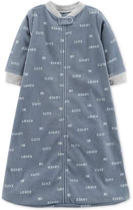 Carter's Baby Boys Cute-Print Microfleece Sleep Bag
