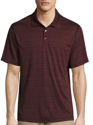 Haggar Short Sleeve Classic Polyester Polo Shirt