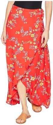 Olive + Oak Olive & Oak Pippa Wrap Skirt Women's Skirt