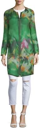 Akris Women's Diedra Floral Silk Jacket