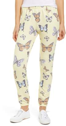 Wildfox Couture Knot Butterfly Sweatpants