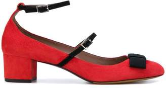 Tabitha Simmons strappy bow pumps