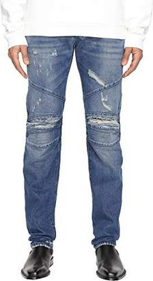 Pierre Balmain Men's Seamed Moto Jeans Jeans