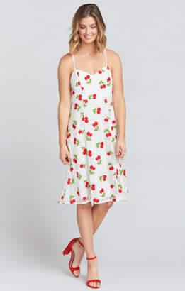 MUMU Carissa Dress ~ Very Cherry Lace