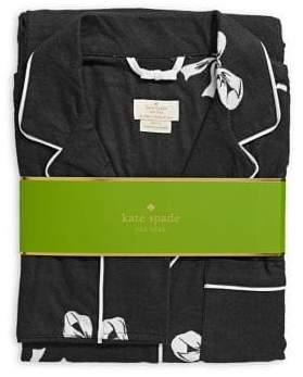 Kate Spade Two-Piece Bow Print Pyjama Set