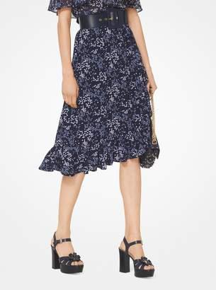 MICHAEL Michael Kors Floral Georgette Skirt