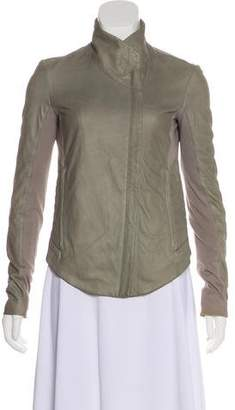 Helmut Lang Leather Casual Jacket