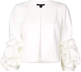 Alberto Makali bunched sleeve jacket
