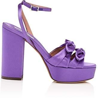 Tabitha Simmons Women's Jodie Satin Platform Sandals