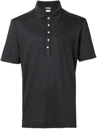 Massimo Alba button polo shirt