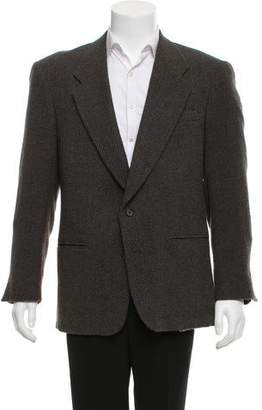 Givenchy Tweed Two-Button Blazer