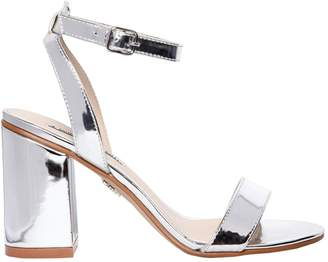 Windsor Smith 90mm Barlo Metallic Faux Leather Sandals