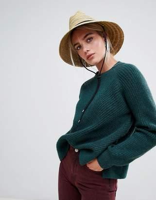 Weekday Diagonal Ribbed Knit Sweater