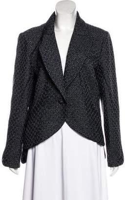 Chanel Iridescent Tweed Blazer