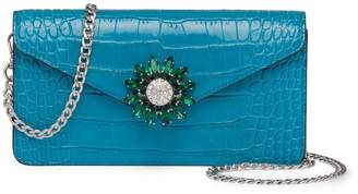 Miu Miu embellished fastening mini bag