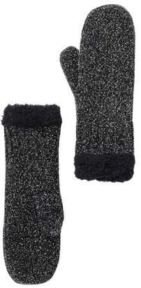Modena Chenille Knit & Fleece Mittens