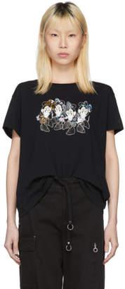 Marcelo Burlon County of Milan Black Disney Edition Minnie Quartet T-Shirt