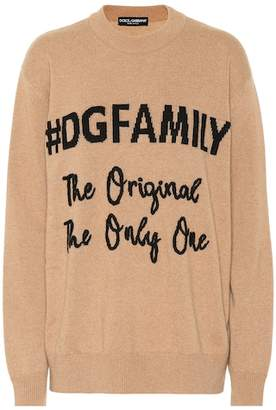 Dolce & Gabbana Family cashmere and wool sweater
