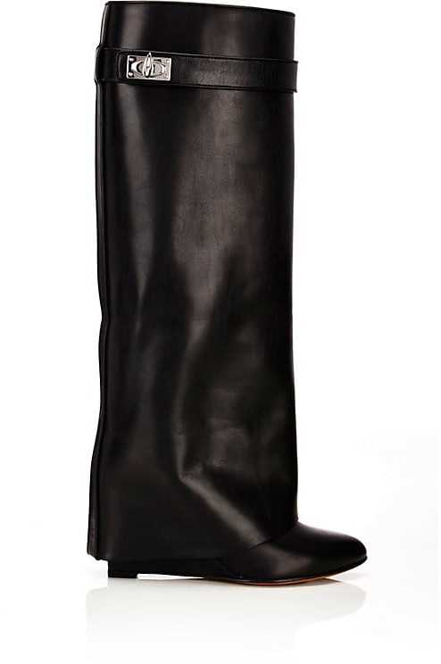 Givenchy Women's Shark Line Knee Boots