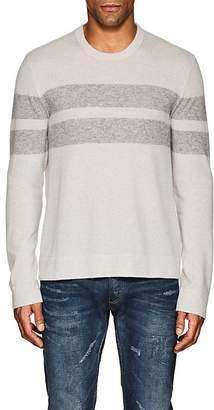 James Perse MEN'S STRIPED CASHMERE SWEATER