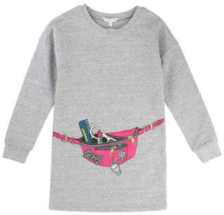 Little Marc Jacobs Essential Jersey Trompe l'Oeil Dress, Size 6-10