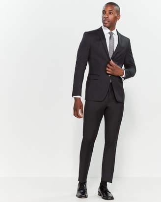John Varvatos Charcoal Wool Suit