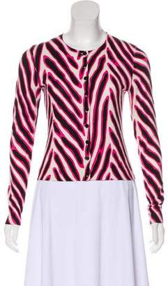 Diane von Furstenberg Lightweight Button-Up Cardigan