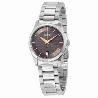 Gucci Women's G-Timeless YA126529 Stainless-Steel Swiss Quartz Watch