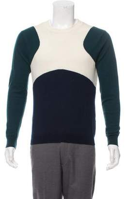 Opening Ceremony Colorblock Wool Sweater
