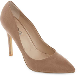 2a465fa58262 STYLE CHARLES Style Charles Womens Pio Pointed Toe Stiletto Heel Slip-on  Pumps