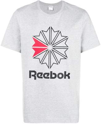 Reebok logo patch T-shirt