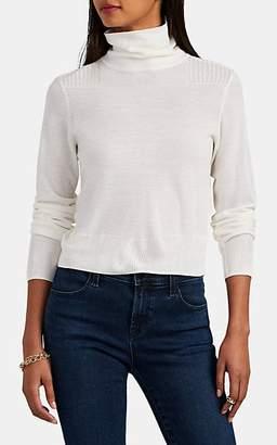 Rag & Bone Women's Doyle Merino Wool Mock-Turtleneck Sweater - White