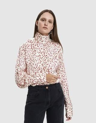 Aalto Memphis Mini Satin Shirt