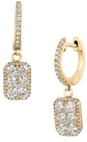 LeVian 14k Honey Gold & Vanilla Diamonds Le Vian Earrings