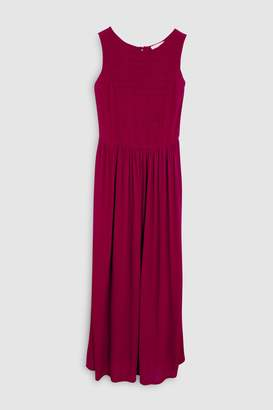 Next Womens Berry Shirred Maxi Dress