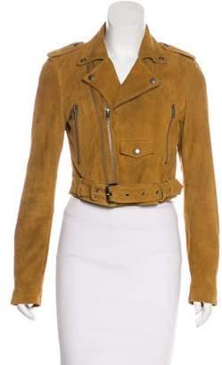 Linea Pelle Suede Moto Jacket