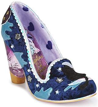 Irregular Choice STARS AT NIGHT women's Heels in Blue