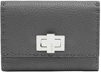 Fendi turnlock wallet