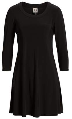 Anne Klein Long Sleeve Knit Dress